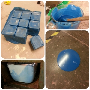melting plastic molds
