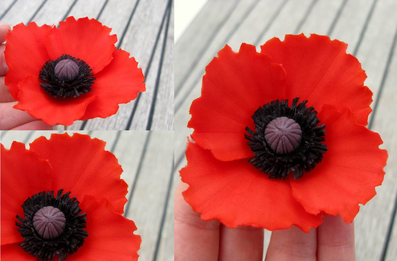 How to Make Polymer Clay Poppies