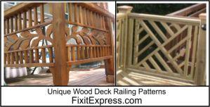 http://www.fixitexpress.com/deck-builder/deck-railing-patterns/