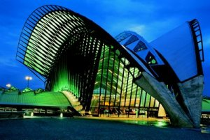 Saint-Exupery Station in Lyon France 01