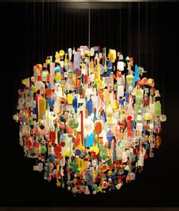 http://modernurbanliving.com/2008/06/10-crazy-chandeliers-made-from-recycled-materials/