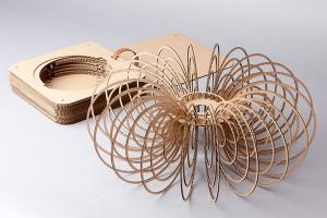 Laura-Wellington-mini-hula-flat-pack-designer-lamp-shade-assembled